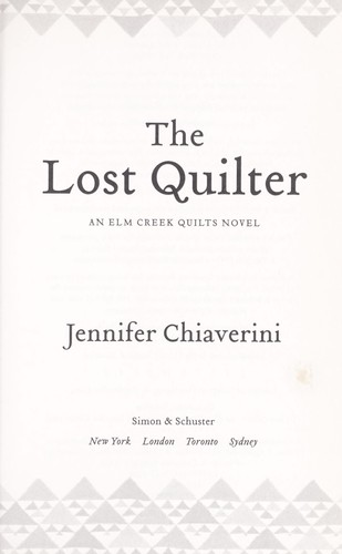 Download The lost quilter