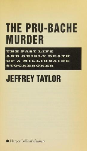 Download The Pru-Bache murder