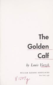 The golden calf.