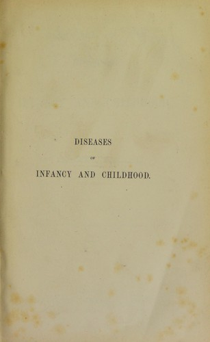 Download Lectures on the diseases of infancy and childhood
