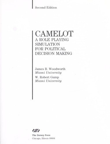 Download Camelot, a role playing simulation for political decision making