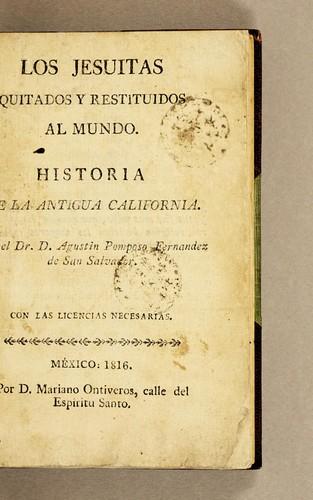 Download Los jesuitas quitados y restituidos al mundo.