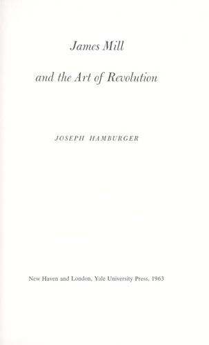 Download James Mill and the art of revolution.