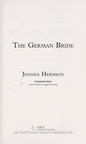 Download The German bride