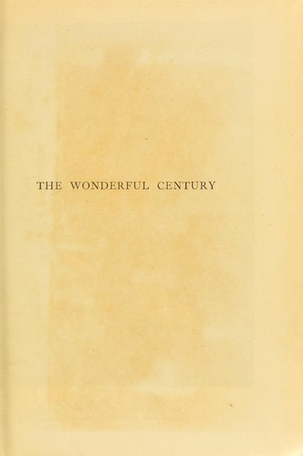 The wonderful century