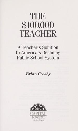The $100,000 teacher