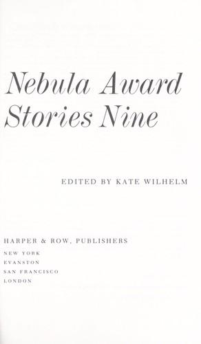 Nebula Award Stories 9