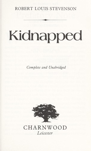 Download Kidnapped (Large Print Edition)