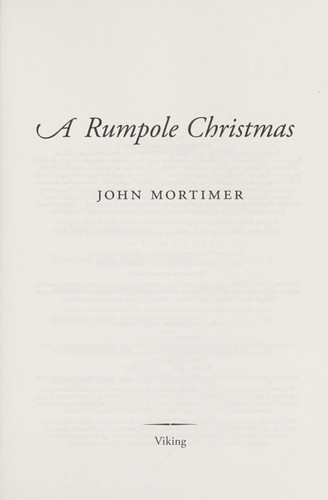 Download A Rumpole Christmas