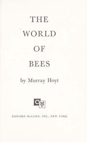 The world of bees.