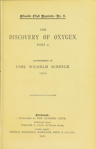 Download The discovery of oxygen