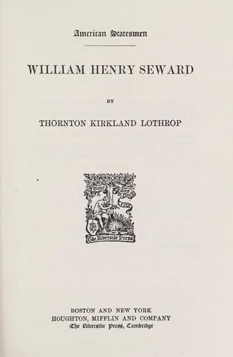 William Henry Seward.