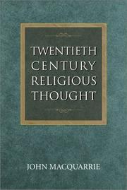 Twentieth-century religious thought PDF