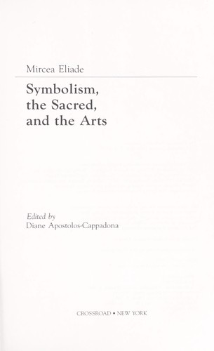 Symbolism, the sacred, and the arts