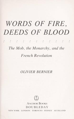 Download Words of fire, deeds of blood