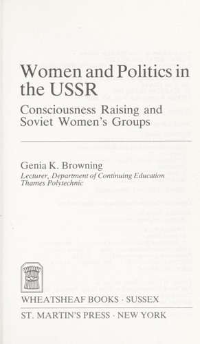 Women & Politics in the USSR