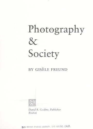 Photography & society