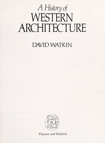 Download A history of Western architecture