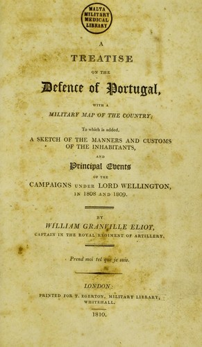 A treatise on the defence of Portugal