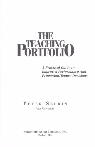 Download The teaching portfolio
