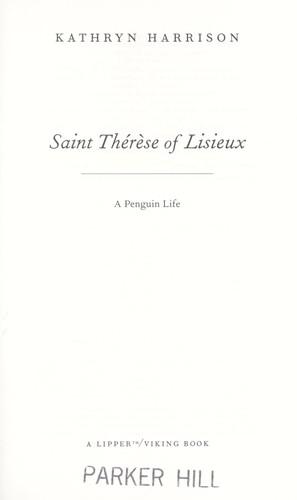 Download Saint Thérèse of Lisieux