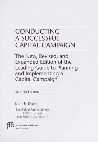 Download Conducting a successful capital campaign