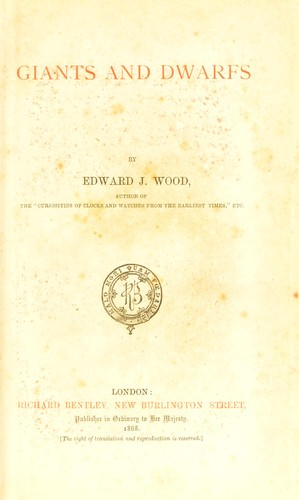 Download Giants and dwarfs