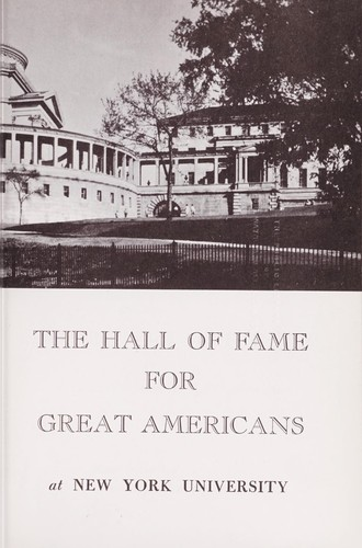 Download The Hall of Fame for Great Americans at New York University