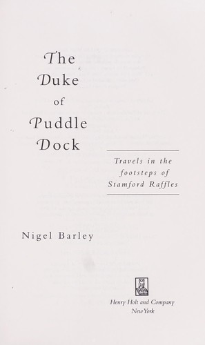 Download The Duke of Puddle Dock