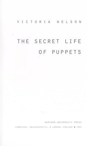 The secret life of puppets