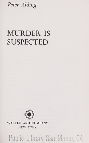 Murder is suspected