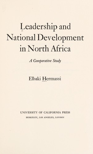 Leadership and national development in North Africa