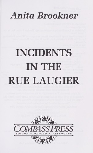 Download Incidents in the  Rue Laugier
