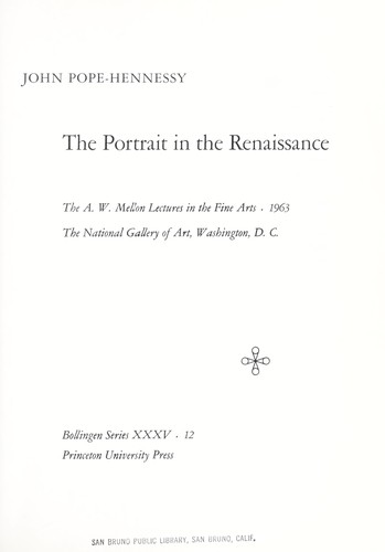 Download The portrait in the Renaissance