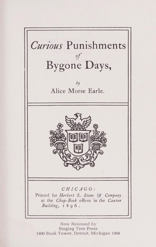 Download Curious punishments of bygone days.