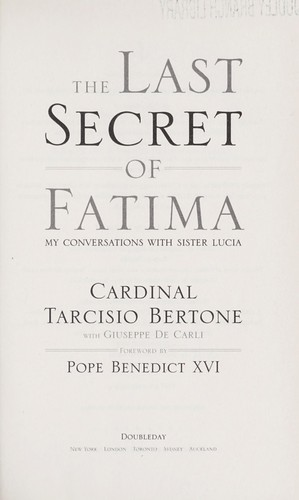Download The last secret of Fatima