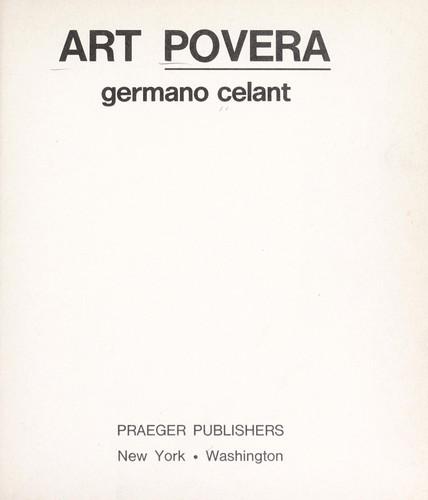 Download Art povera.