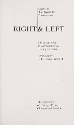 Right & left