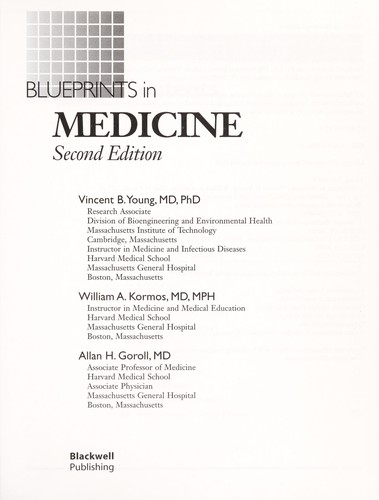 Download Blueprints in medicine