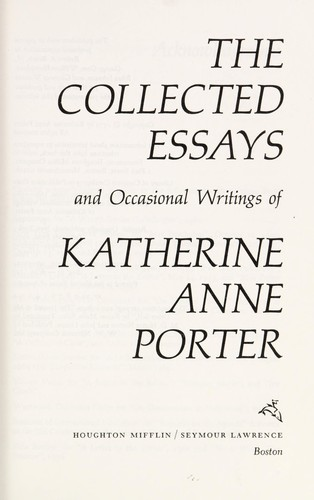 an examination of katherine anne porters rope on the topic of married and unmarried couples The percy anecdotes who was very rich, was married to a young man without fortune they had lived in the most perfect happi.