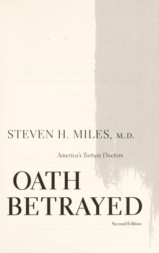 Oath betrayed