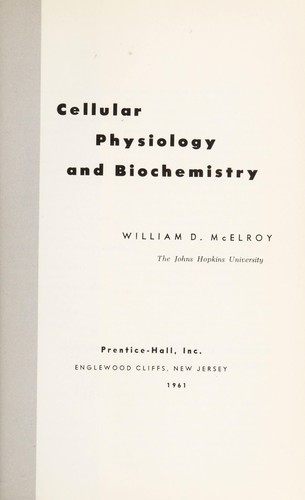 Download Cellular physiology and biochemistry.