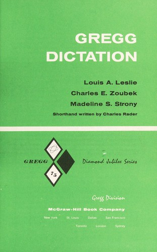 Download Gregg dictation