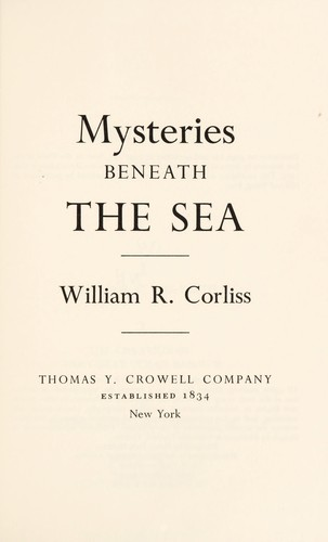Mysteries beneath the sea
