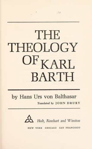 The theology of Karl Barth.