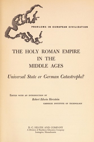 The Holy Roman Empire in the Middle Ages