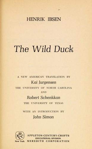 Download The wild duck.
