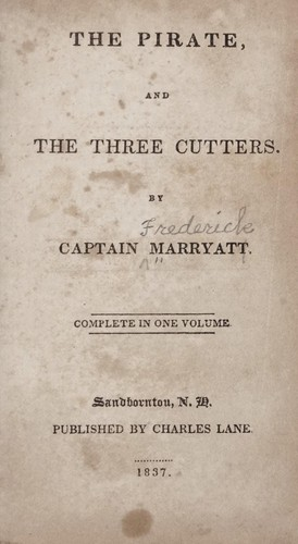 Download The pirate, and The three cutters