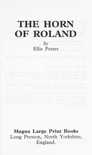 Download The Horn of Roland