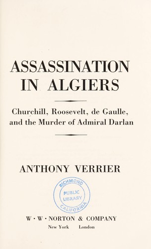 Download Assassination in Algiers